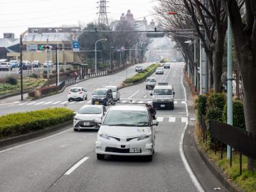 2016年2月、神奈川県藤沢市において公道での実証実験を行った